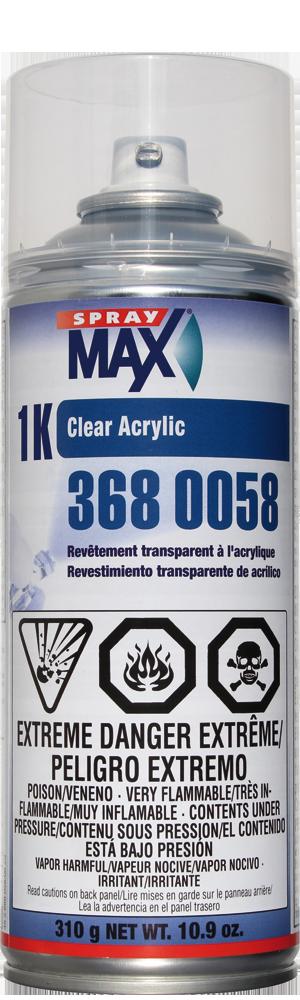 1K Clear Acrylic - SprayMax