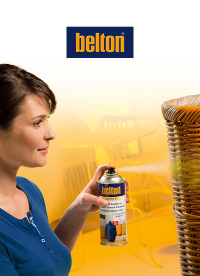 belton / for decorative and creative spray painting