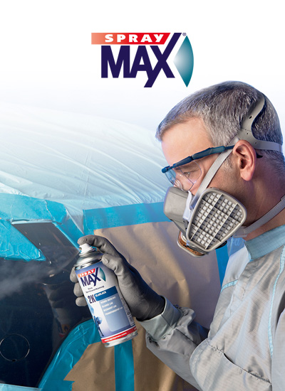SprayMax / professional technology – for commercial use